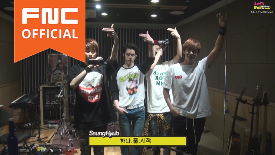 Let's Roll! N.Flying - ep4. Fan Q&A with N.Flying!