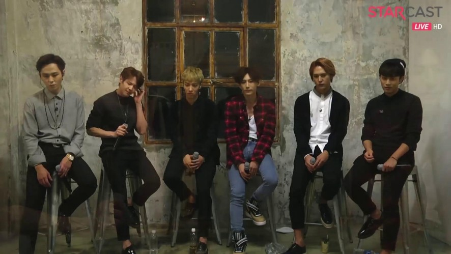 "BEAST ""12시 30분"" live of STARCAST ON-AIR"
