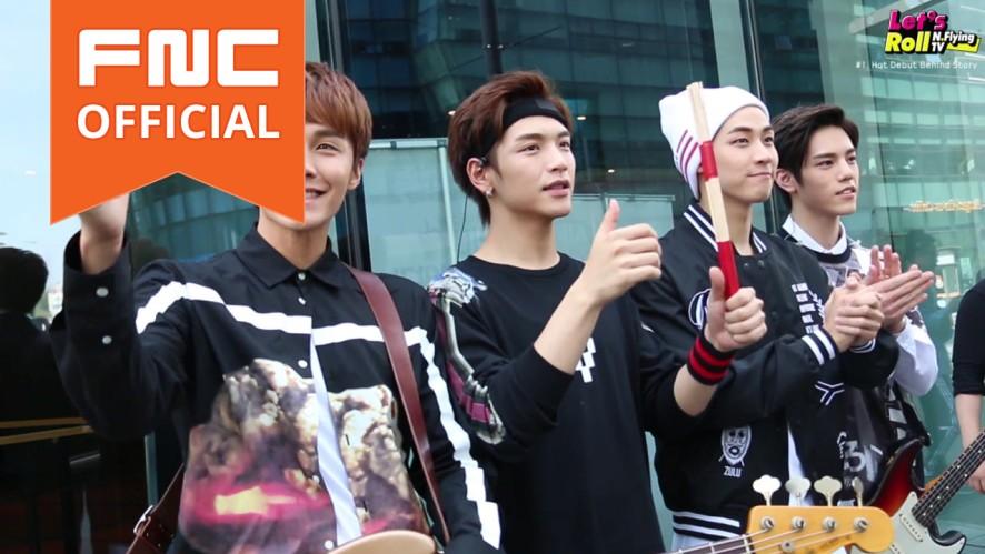 Let's Roll! N.Flying ep1. Debut, Ready, Action!