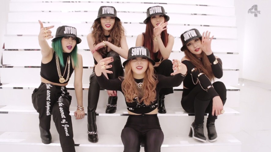 "4minute ""Crazy"" MV making"