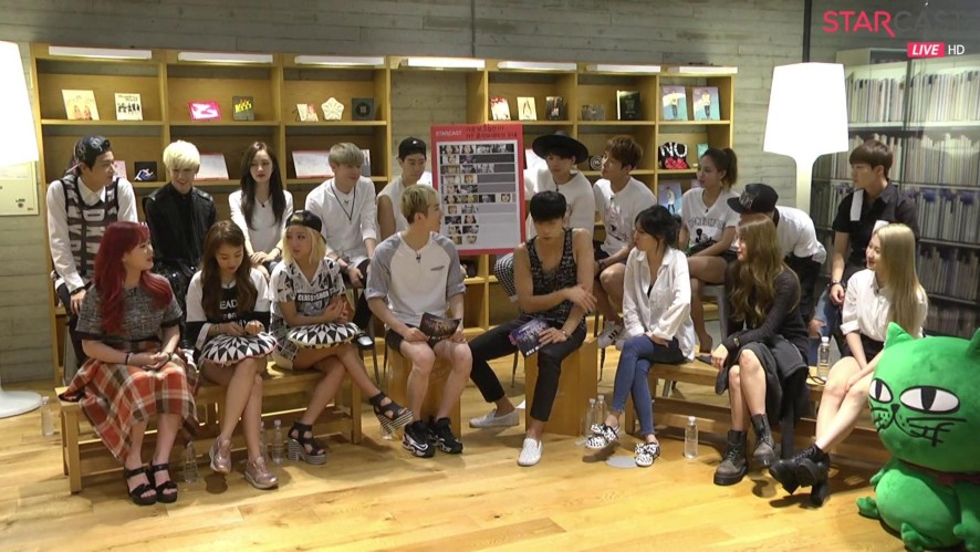 2) JYP NATION ONE MIC TALK