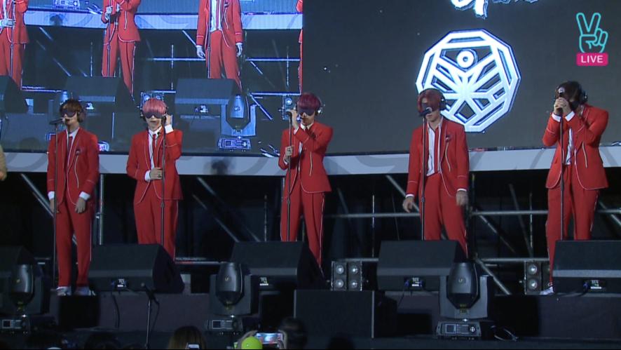[V] B1A4 Guerrilla concert - OPENING