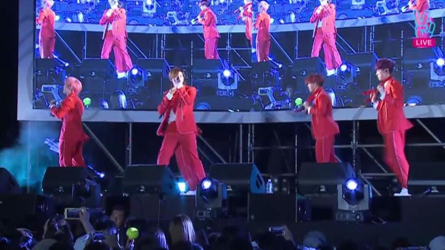 [V] B1A4 Guerrilla concert - LONELY LIVE