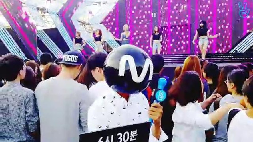 MPD in Daejeon M COUNTDOWN Rehearsal