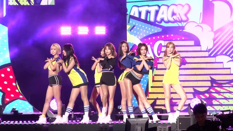 AOA's REAL CAM (K-POP SUPER CONCERT)