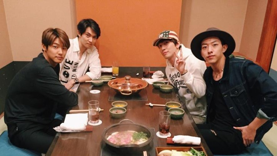 CNBLUE's DINNER in Japan