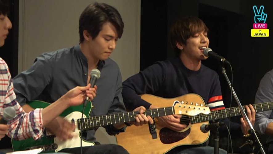 CNBLUE CINDERELLA Live in Japan - Acoustic Live