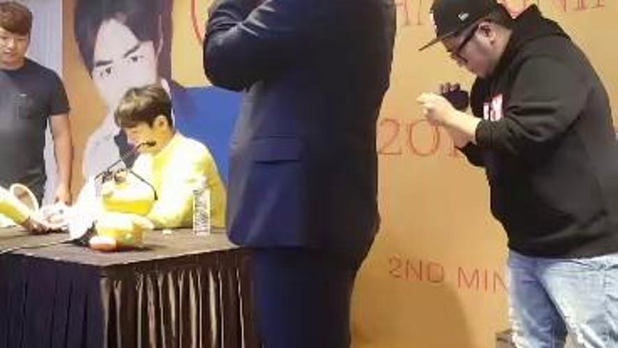 #REAL#JUNJIN#Fan Sign V Live