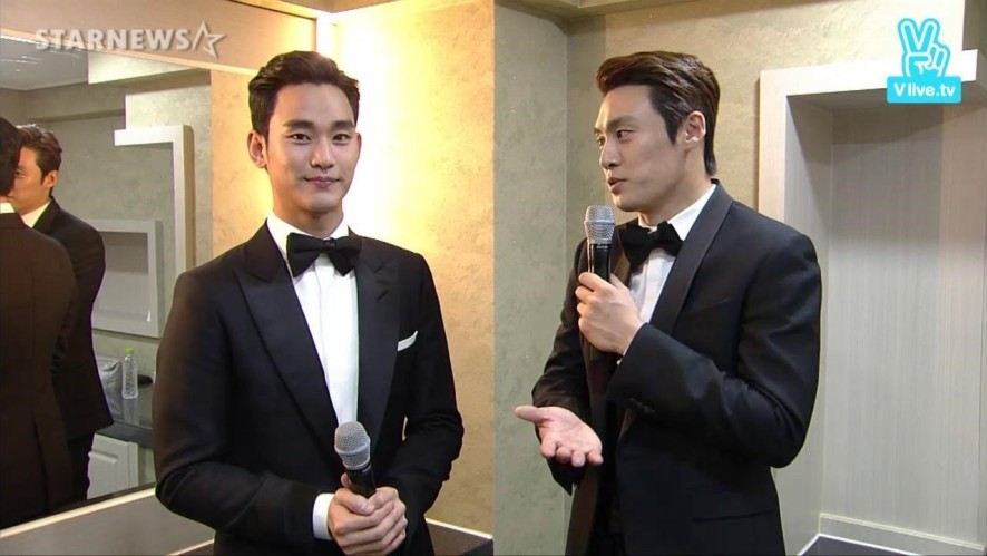 2015 Korea Drama Awards - Kim Soo-hyun interview