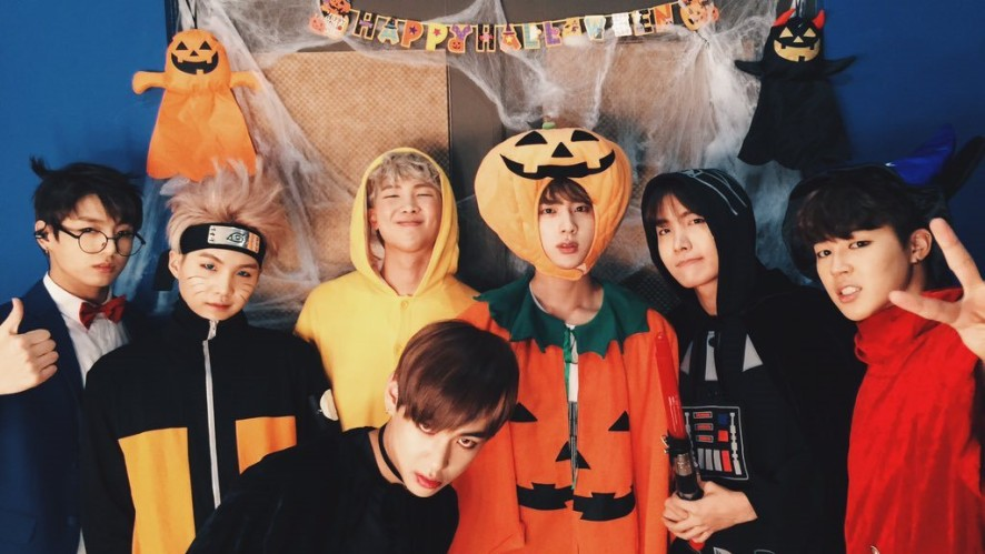 Halloween Party with BTS