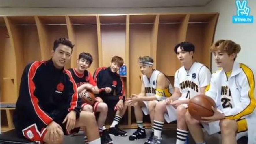 2PM Fan Meeting! 불꽃남자들의 대기실 엿보기
