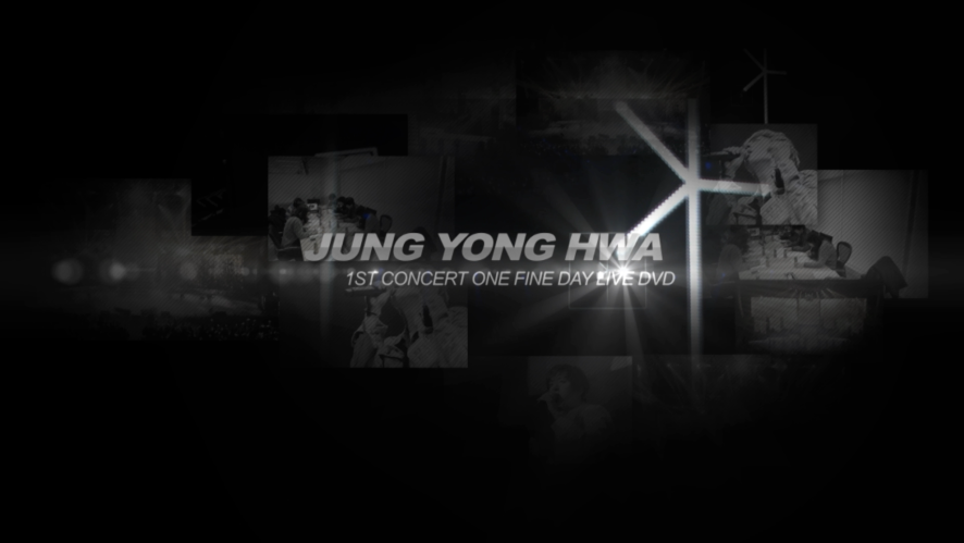 JUNG YONG HWA 1ST CONCERT DVD RELEASE VER1