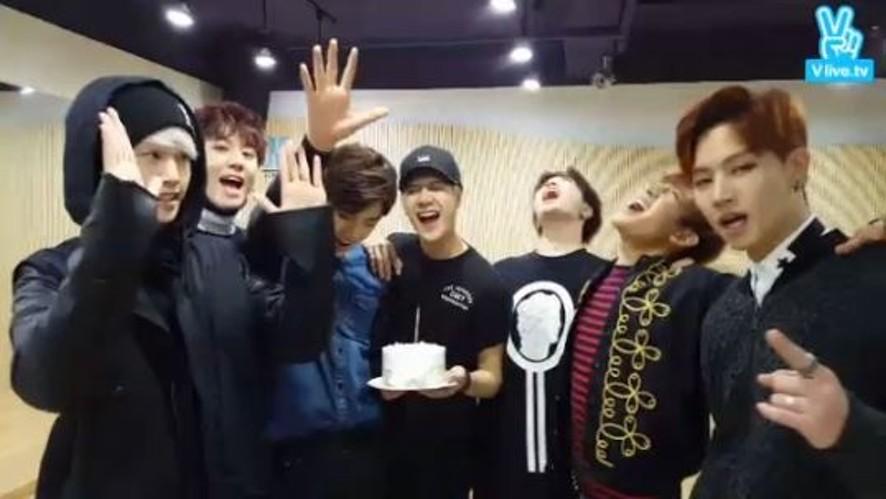 신곡 공개 10분전! GOT7과 함께하는 Live♡