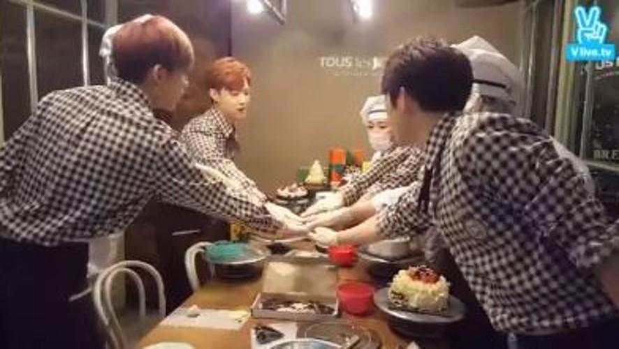 GOT7의 'Happy Merry Bakery' 일일 파티쉐