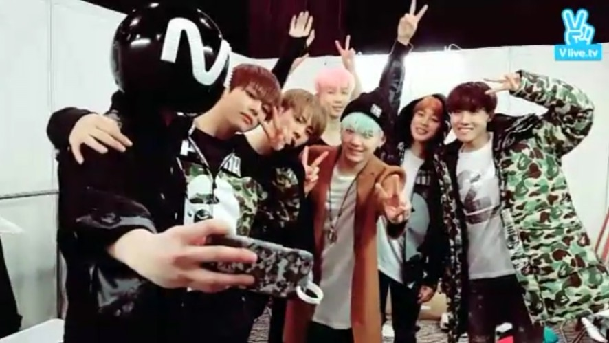 BTS in MAMA BACKSTAGE