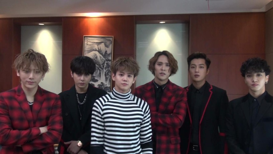 BEAST SHANGHAI BACK STAGE