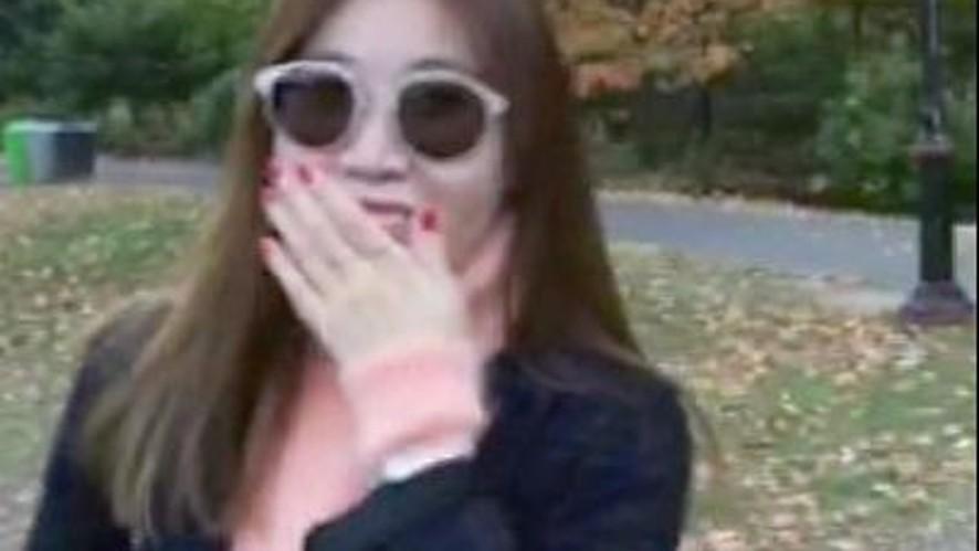 [Davichi] 다비치 'WHITE(화이트)' 발매기념 깜짝선물 - 셀프카메라 IN NY