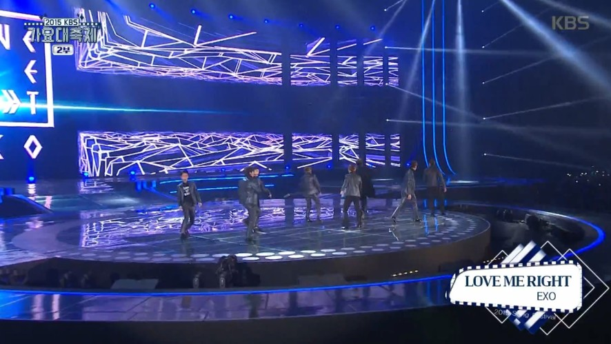 [KBS 가요대축제] EXO - CALL ME BABY + LOVE ME RIGHT