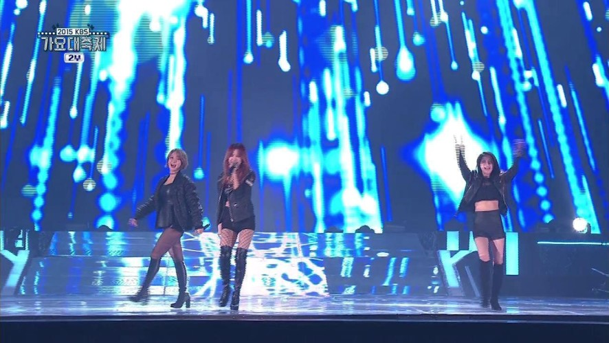 [KBS song festival] Girl Group Collabo - I will give you my love left