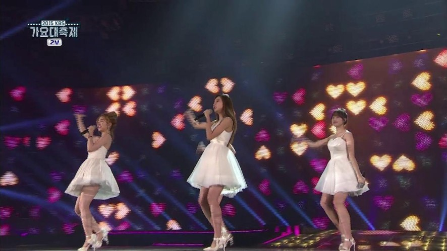 [KBS song festival] Girl Group Collabo - I don't know what love is yet
