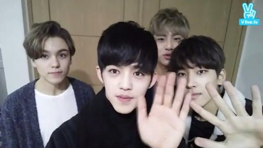 SEVENTEEN '힙합팀 공연 대기실'