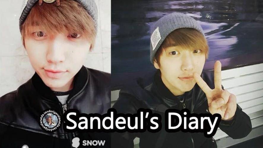 B1A4 Sandeul's Diary ep03