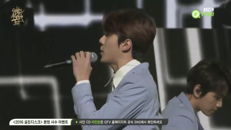 [2016 골든디스크] 음반부문 본상 - 엑소(EXO) 'LOVE ME RIGHT'
