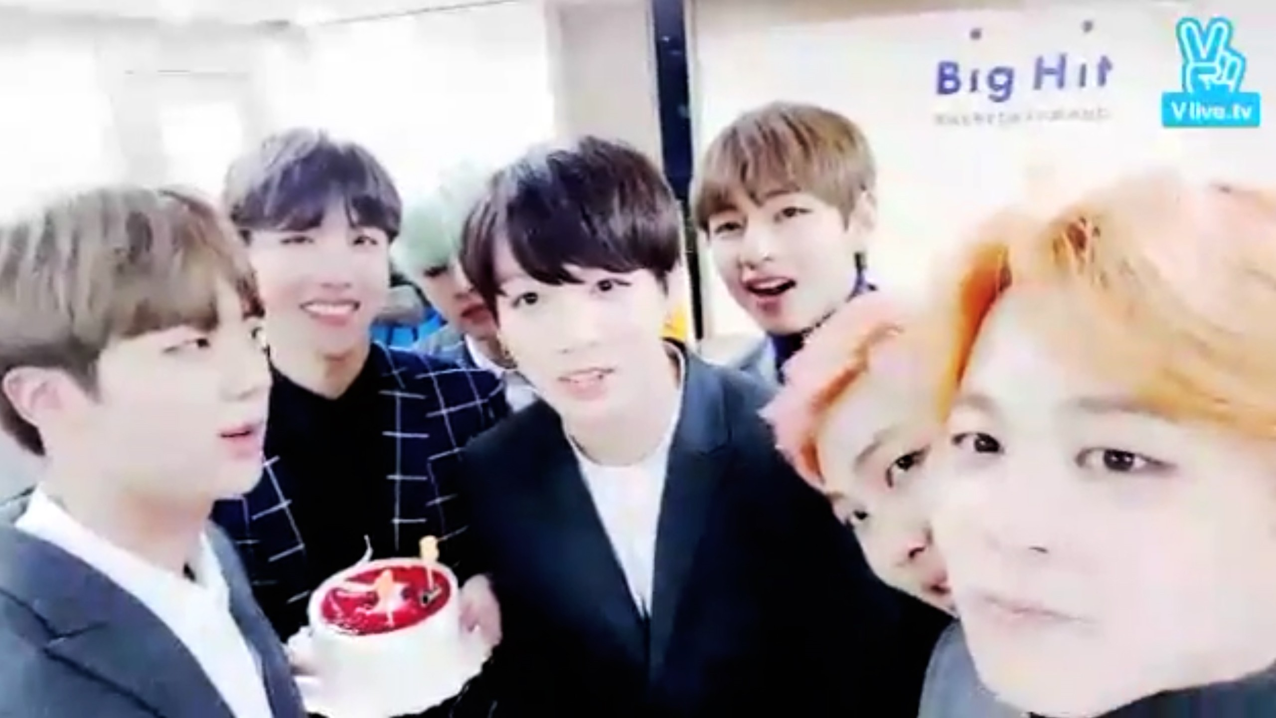 V Live Bts J Hope S Birthday
