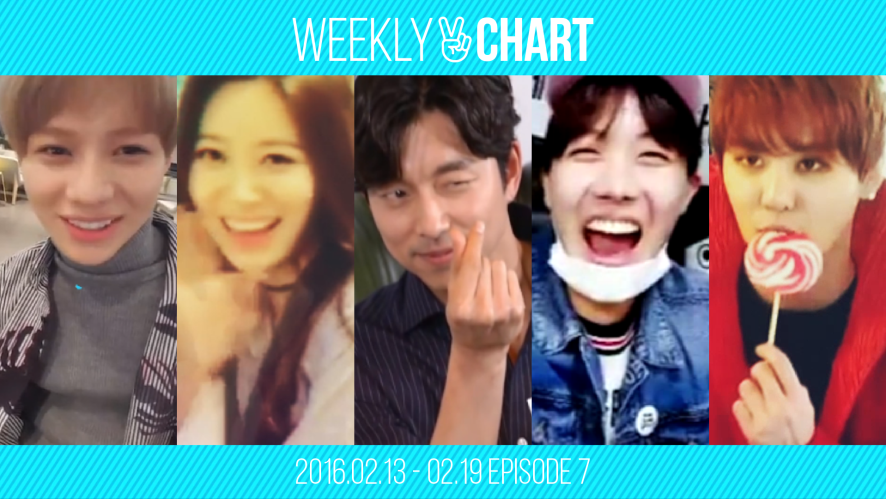 [WEEKLY V CHART] 2016.2.13 - 2.19 EPISODE