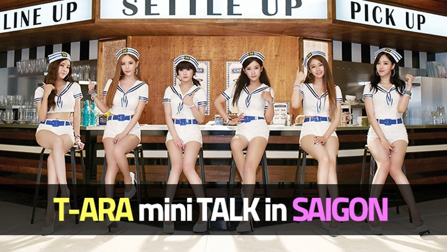 T-ARA Mini Talk in SAIGON