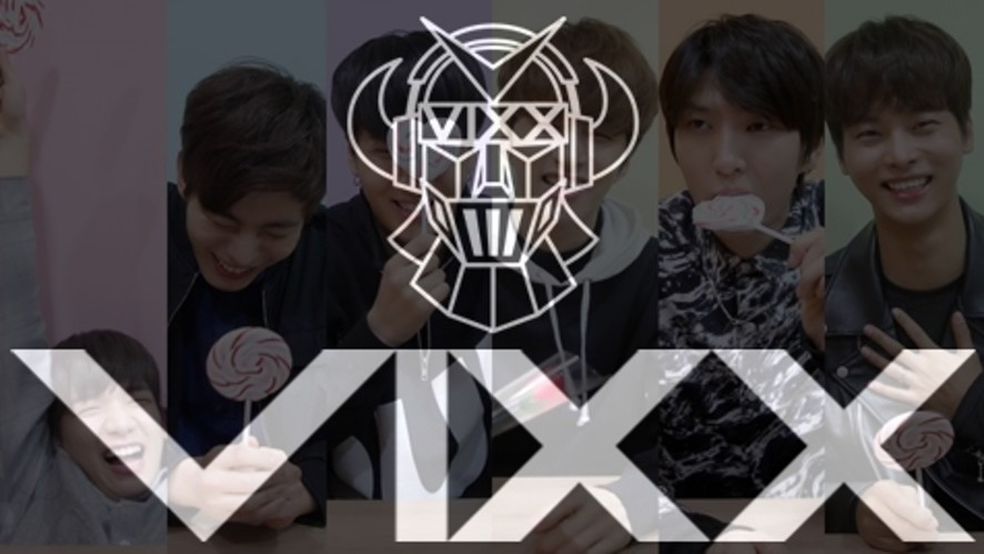 VIXX 화이트데이 선물 Behind Clip