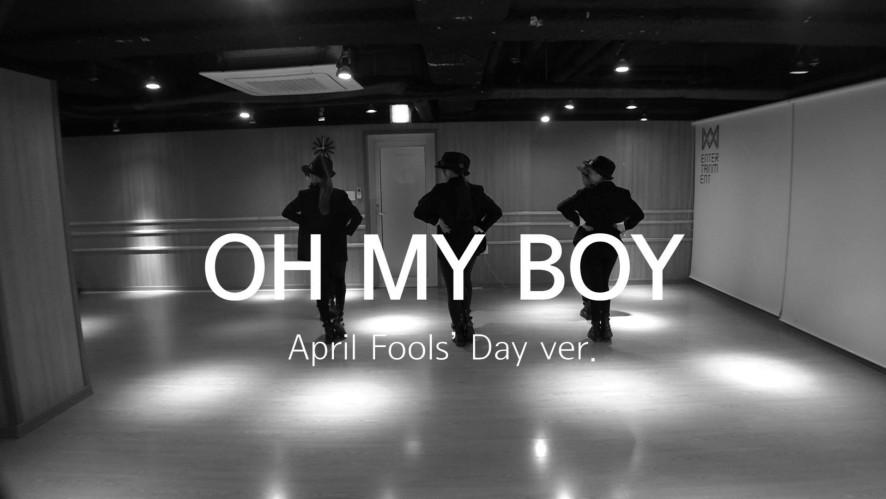 오마이보이(OH MY BOY)_한 발짝 두 발짝 (April Fools' Day ver.)