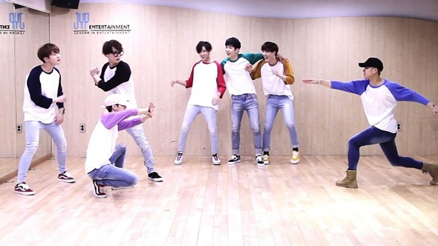 "GOT7(갓세븐) ""HOME RUN"" Dance Practice"