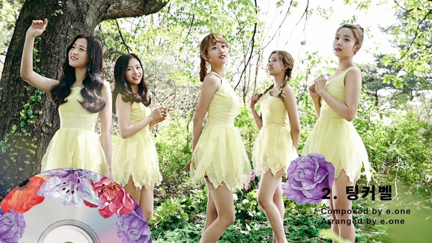 [Preview] APRIL(에이프릴) 2nd Mini Album Spring Preview