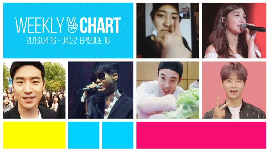 [WEEKLY V CHART] 2016.4.16 - 22 EPISODE