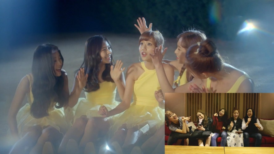 "[Special] 에이프릴 멤버들이 직접 만든 ""Tinker Bell(팅커벨)"" 응원법!!"