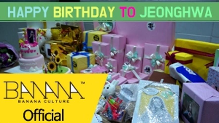 [EXID(이엑스아이디)] HAPPY BIRTHDAY TO JEONGHWA