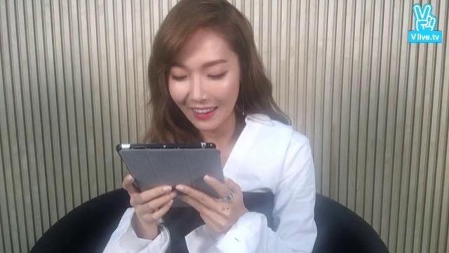 제시카 V앱 첫방송! #jessicagram