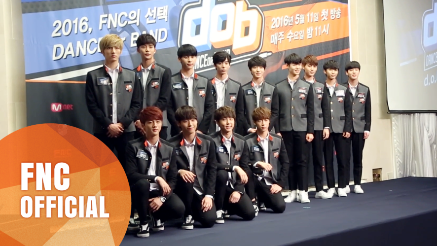 FNC NEOZ SCHOOL - [d.o.b : Dance or Band] 제작발표회 현장 공개!