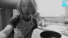 백아연의 김볶밥 쿡방♡