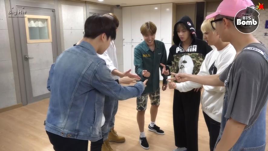 방탄소년단 '뱁새' Dance Practice (흥 ver.)