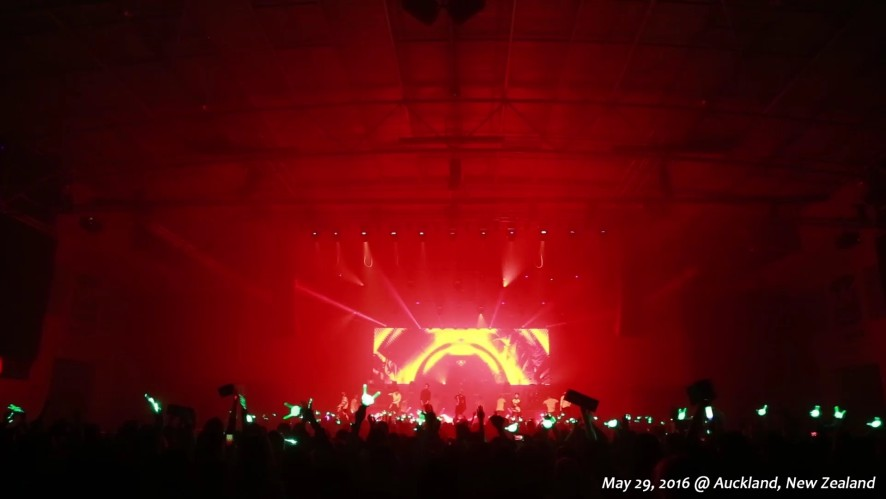 B.A.P LIVE ON EARTH 2016 WORLD TOUR NEW ZEALAND AWAKE!!