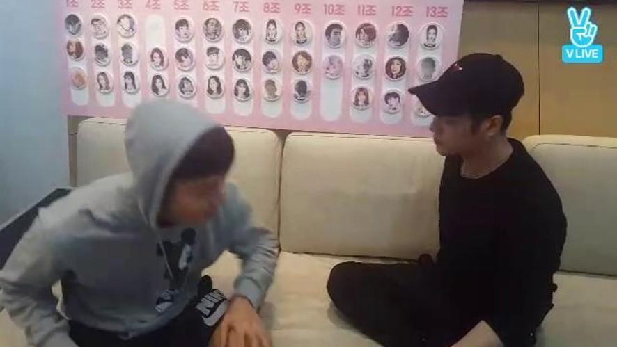 [가위바위보] 택연 VS 잭슨