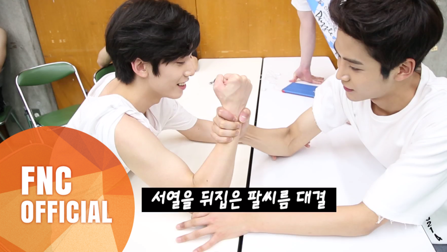 NEOZ BREAK TIME - #서열을 뒤집은 팔씨름 대결 (NEOZ Arm-Wrestling Time)