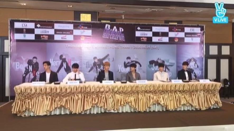 B.A.P Vring U(태국 기자회견1)