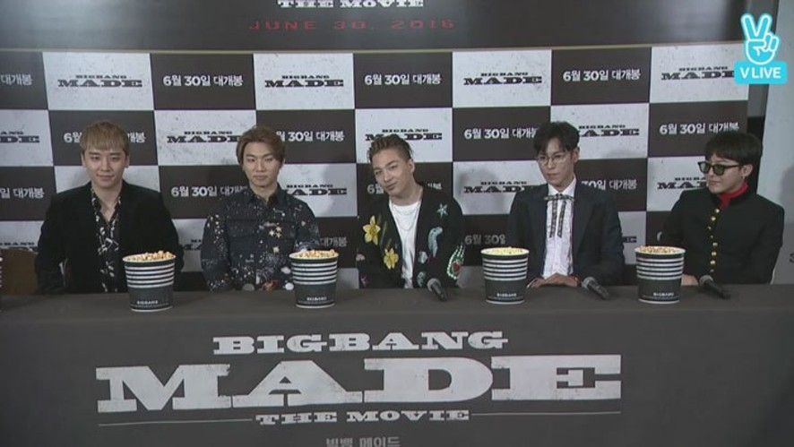 [REPLAY] BIGBANG 10 THE MOVIE 'BIGBANG MADE' MOVIE TALK