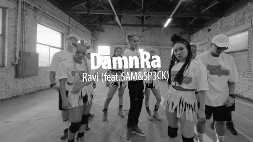 Jelly box DamnRa Ravi (feat. SAM&SP3CK) Performance Video