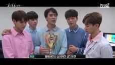 비스트 - '리본(Ribbon)' 1위 비하인드 영상(Promotion week behind)!