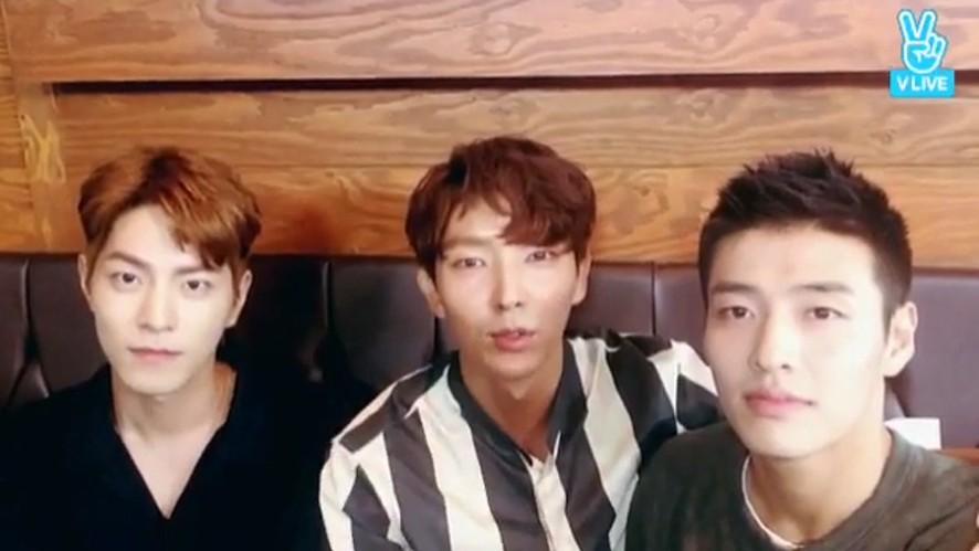[Lee Joon Gi] 오빠들과의 영상통화..♥ (Video calling with 3 oppas)