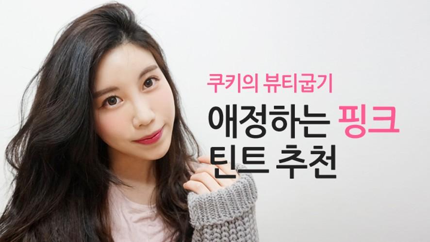 [쿠키] 요즘 애정하는 핑크틴트 추천 recommend pink Lipstick